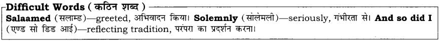 High Maharajah RBSE Class 10 English Notes 27
