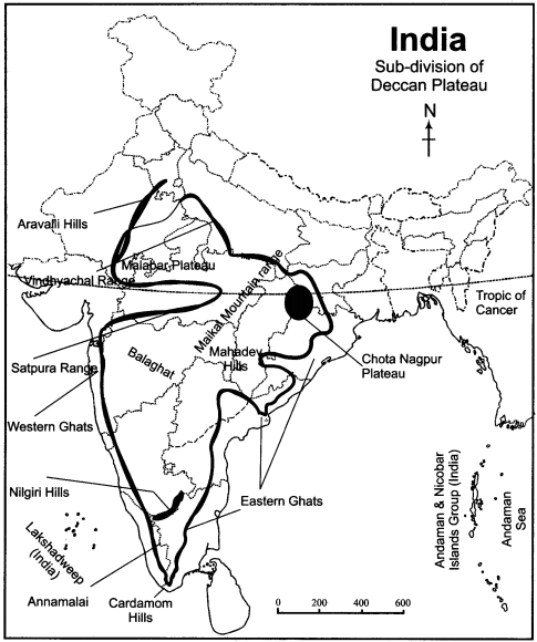RBSE Solutions for Class 11 Indian Geography Chapter 4 India Structure Relief and Physiographic Regions img-2