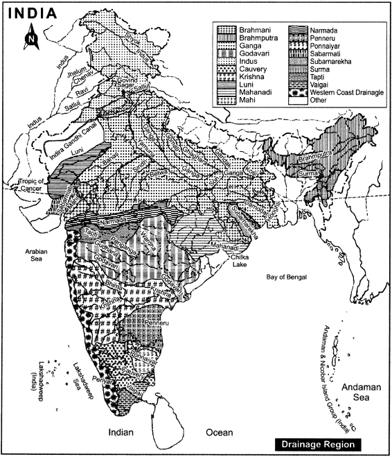 RBSE Solutions for Class 11 Indian Geography Chapter 5 Drainage System of India img-2
