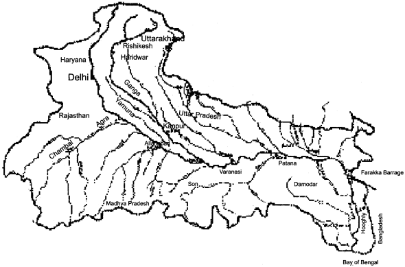 RBSE Solutions for Class 11 Physical Geography Chapter 23 Ecosystem of the River Ganga img-2