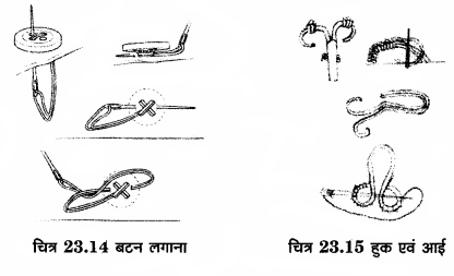 RBSE Solutions for Class 12 Home Science Chapter 23 वस्त्रों की सिलाई-8