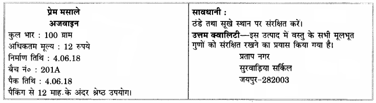 RBSE Solutions for Class 12 Home Science Chapter 35 उपभोक्ता संरक्षण अधिनियम-1986-6