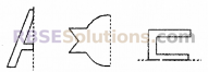 RBSE Solutions for Class 6 Maths Chapter 11 सममिति Additional Questions image 1