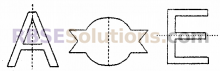 RBSE Solutions for Class 6 Maths Chapter 11 सममिति Additional Questions image 2