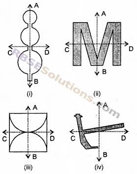 RBSE Solutions for Class 6 Maths Chapter 11 सममिति In Text Exercise image 2