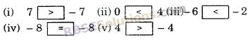 RBSE Solutions for Class 6 Maths Chapter 4 ऋणात्मक संख्याएँ एवं पूर्णांक Additional Questions image 2
