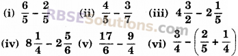 RBSE Solutions for Class 6 Maths Chapter 5 भिन्न Ex 5.5 image 1