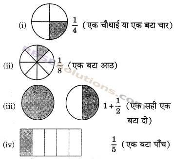 RBSE Solutions for Class 6 Maths Chapter 5 भिन्न In Text Exercise image 2