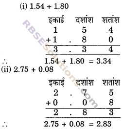 RBSE Solutions for Class 6 Maths Chapter 6 दशमलव संख्याएँ In Text Exercise image 6