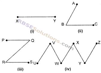 RBSE Solutions for Class 6 Maths Chapter 8 आधारभूत ज्यामितीय अवधारणाएँ एवं रचना Ex 8.1 image 1