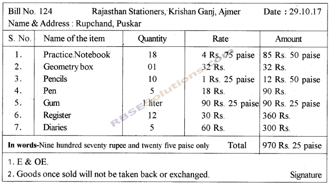 RBSE Solutions for Class 5 Maths Chapter 10 Currency Additional Questions image 11