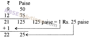 RBSE Solutions for Class 5 Maths Chapter 10 Currency Additional Questions image 2