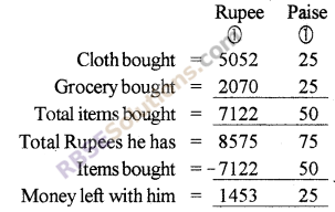 RBSE Solutions for Class 5 Maths Chapter 10 Currency Ex 10.1 image 2