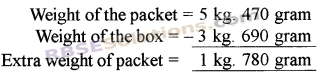 RBSE Solutions for Class 5 Maths Chapter 12 Weight Ex 12.1 image 3