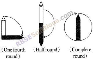 RBSE Solutions for Class 5 Maths Chapter 16 Geometry In Text Exercise image 1