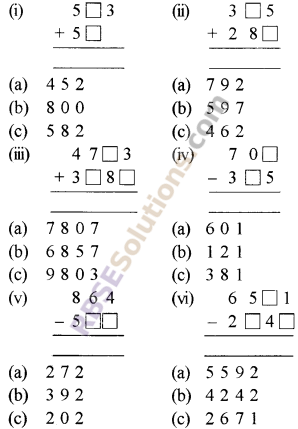 RBSE Solutions for Class 5 Maths Chapter 17 Mental MathematicsEx 17.1 image 1