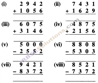 RBSE Solutions for Class 5 Maths Chapter 2 जोड़-घटाव Ex 2.1 image 1