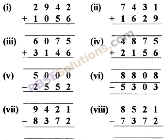 RBSE Solutions for Class 5 Maths Chapter 2 Addition and Subtraction Ex 2.1 image 1