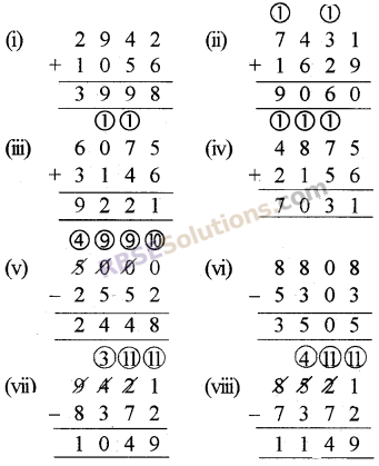 RBSE Solutions for Class 5 Maths Chapter 2 Addition and Subtraction Ex 2.1 image 2