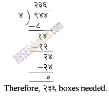 RBSE Solutions for Class 5 Maths Chapter 3 Multiplication and Division Additional Questions image 6