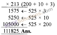 RBSE Solutions for Class 5 Maths Chapter 3 Multiplication and Division Ex 3.1 image 13