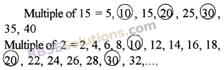 RBSE Solutions for Class 5 Maths Chapter 5 Multiples and Factors Additional Questions image 1