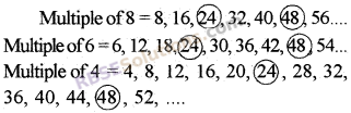 RBSE Solutions for Class 5 Maths Chapter 5 Multiples and Factors Additional Questions image 2