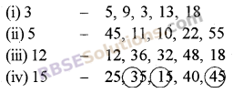 RBSE Solutions for Class 5 Maths Chapter 5 Multiples and Factors Ex 5.1 image 1