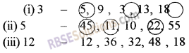 RBSE Solutions for Class 5 Maths Chapter 5 Multiples and Factors Ex 5.1 image 2