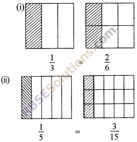 RBSE Solutions for Class 5 Maths Chapter 7 Equivalent Fractions Ex 7.1 image 4