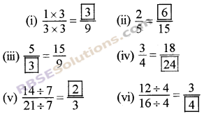RBSE Solutions for Class 5 Maths Chapter 7 Equivalent Fractions Ex 7.1 image 6