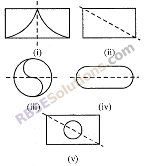 RBSE Solutions for Class 7 Maths Chapter 11 सममिति Ex 11.1
