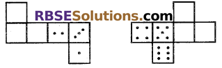 RBSE Solutions for Class 7 Maths Chapter 12 ठोस आकारों का चित्रण Ex 12.1