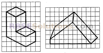 RBSE Solutions for Class 7 Maths Chapter 12 ठोस आकारों का चित्रण Ex 12.2