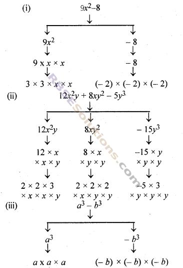 RBSE Solutions for Class 7 Maths Chapter 13 बीजीय व्यंजक Ex 13.1