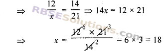 RBSE Solutions for Class 7 Maths Chapter 15 राशियों की तुलना Ex 15.1