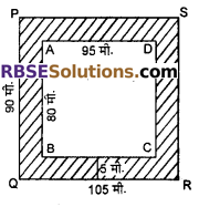 RBSE Solutions for Class 7 Maths Chapter 16 परिमाप और क्षेत्रफल Ex 16.2