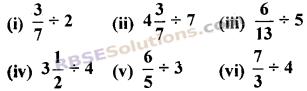 RBSE Solutions for Class 7 Maths Chapter 2 भिन्न एवं दशमलव संख्याएँ Ex 2.3