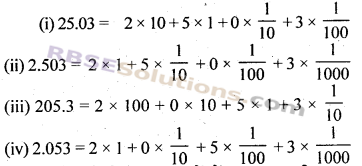 RBSE Solutions for Class 7 Maths Chapter 2 भिन्न एवं दशमलव संख्याएँ Ex 2.4