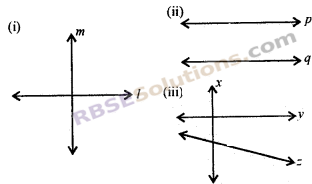 RBSE Solutions for Class 7 Maths Chapter 7 कोण एवं रेखाएँ Ex 7.2