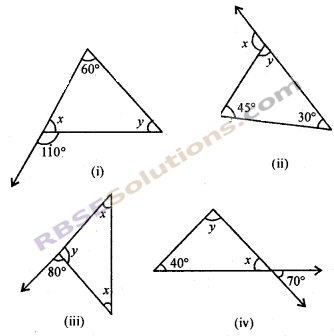 RBSE Solutions for Class 7 Maths Chapter 8 त्रिभुज और उसके गुण Ex 8.1