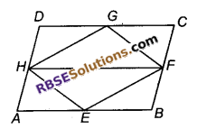 RBSE Solutions for Class 9 Maths Chapter 10 त्रिभुजों तथा चतुर्भुजों के क्षेत्रफलEx 10.2
