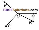 RBSE Solutions for Class 9 Maths Chapter 5 समतल ज्यामिती परिचय एवं रेखाएँ व कोण Ex 5.1