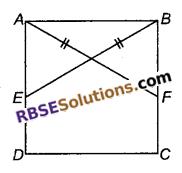 RBSE Solutions for Class 9 Maths Chapter 7 त्रिभुजों की सर्वांगसमता एवं असमिकाएँ Ex 7.2