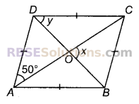 RBSE Solutions for Class 9 Maths Chapter 9 चतुर्भुज Additional Questions