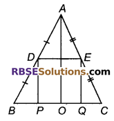 RBSE Solutions for Class 9 Maths Chapter 9 चतुर्भुज Miscellaneous Exercise