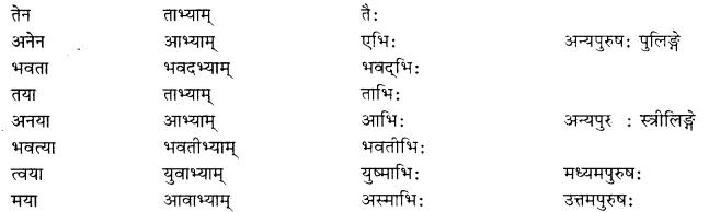 RBSE Class 10 Sanskrit व्याकरणम् वाच्य-परिवर्तनम् image 1