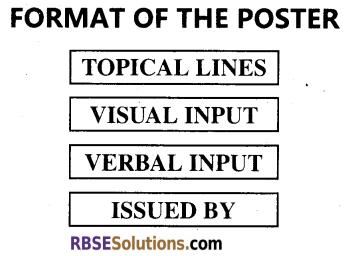 RBSE Class 12 English Poster Writing img 1