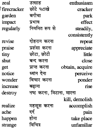 RBSE Class 5 English Vocabulary Synonyms Similar Words image 2