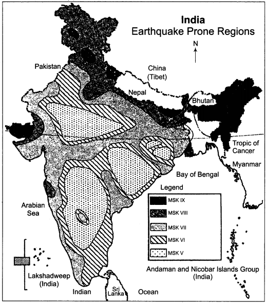 RBSE Solutions for Class 11 Indian Geography Chapter 10 Natural Disasters and Management, Earthquakes & Landslides img-4